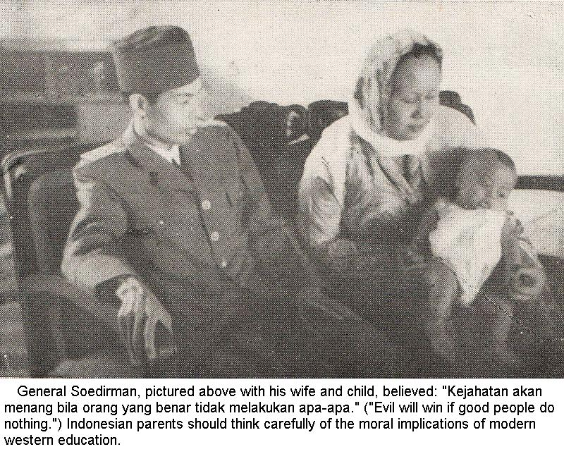 "Open Letter to Indonesian Parents: Beware of Western ""Education"""