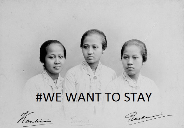 Kebersamaan Kartini: We Want ToStay.